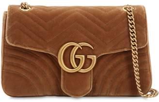 Gucci Medium Gg Marmont 2.0 Velvet Bag