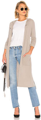 ATM Anthony Thomas Melillo Felt Wool Hooded Coat