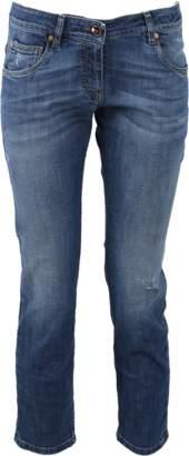 Brunello Cucinelli Distressed Boyfriend Jeans