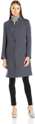 Nanette Lepore Women's Scuba Notched Collar Coat