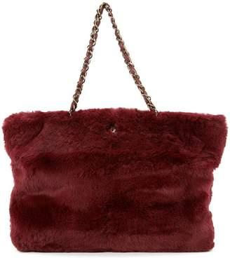ec03b192dd Chanel Pre-Owned fur chain shoulder bag
