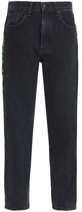 Ash Mid-Rise Slim-Leg Jeans
