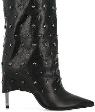 Balmain mid-calf boots