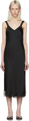 Helmut Lang Black Lace Slip Dress $620 thestylecure.com