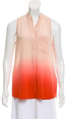 Rebecca Taylor Silk Ombré Top w/ Tags