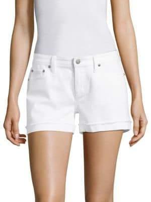Vineyard Vines Selvedge Raw Cuffed Denim Shorts