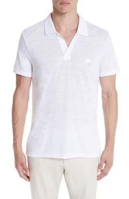 Vilebrequin Jersey Linen Johnny Collar Polo