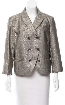 Diane von Furstenberg Little M Tweed Blazer