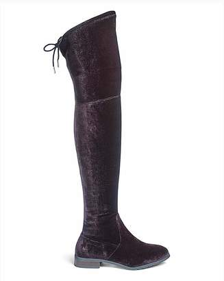 Royce Nicole Boots Ex Wide Fit Standard Calf