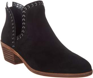 Vince Camuto Leather Exposed Ankle Booties - Prafinta