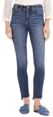 J.Crew 9-Inch Toothpick High Waist Step Hem Jeans