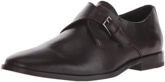 Calvin Klein Men's Norm Leather Monk Strap