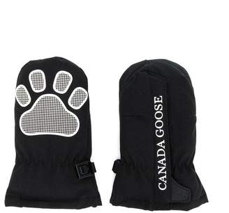 Canada Goose Kids paw patch gloves