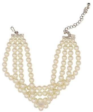 Kenneth Jay Lane Pearl Choker Necklace