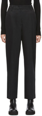 Our Legacy Black Twill Service Trousers