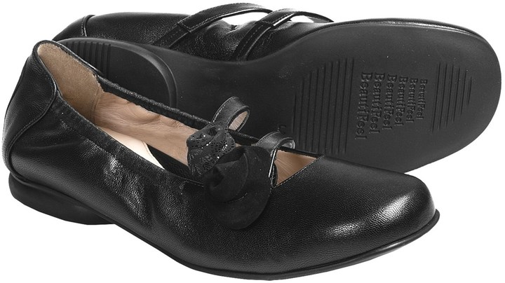 BeautiFeel Nika Leather Flats (For Women)