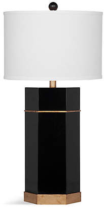 One Kings Lane Surrey Table Lamp - Black/Gold Leaf