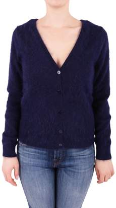 P.A.R.O.S.H. Angora Blend Knit Cardigan