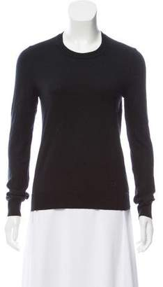 Tory Burch Crew Neck Long Sleeve Top