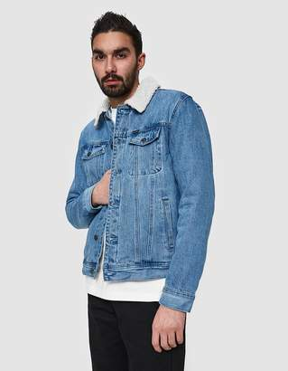 Obey Off The Chain Jacket in Light Indigo