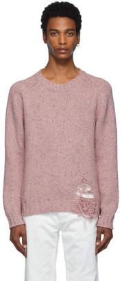 Maison Margiela Pink Gauge 3 Sweater
