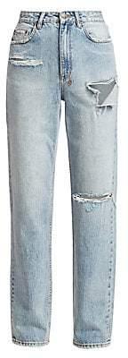 Ksubi Women's Playback High-Rise Skream Trashed Jeans