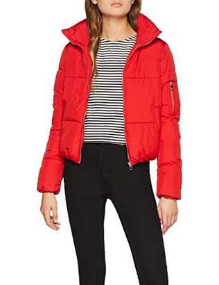 Jennyfer Women's 00dika Coat, (Red 38.0), X-Small