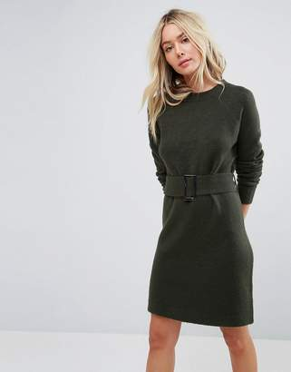Asos Knitted Mini Dress with Belt
