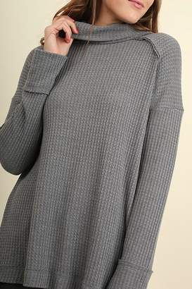 Umgee USA Grey Sweater