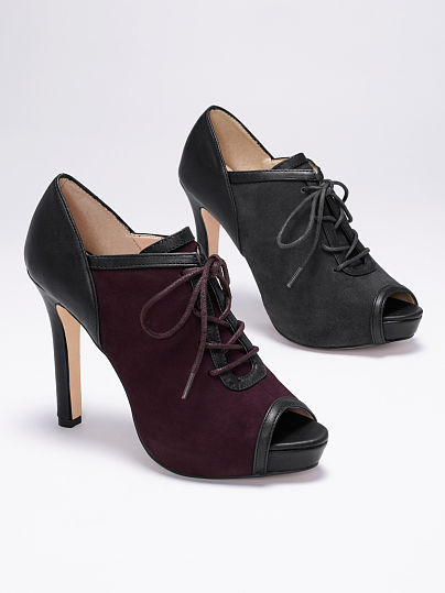 PeepToe VS Collection Peep-toe Oxford