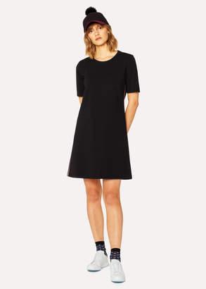 Paul Smith Women's Black Shift Dress With Stripe Detail