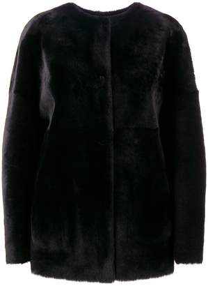 P.A.R.O.S.H. reversible shearling jacket