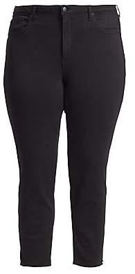 NYDJ NYDJ, Plus Size Women's Ami Side-Slit Skinny Ankle Jeans