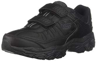 Skechers Sport Men's Afterburn Strike Memory Foam Velcro Sneaker