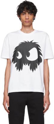 McQ White Mad Chester T-Shirt