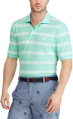 Chaps Men's Classic-Fit Wide-Striped Polo
