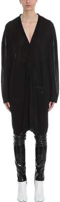 Maison Margiela Black Wool Cardigan Sweater