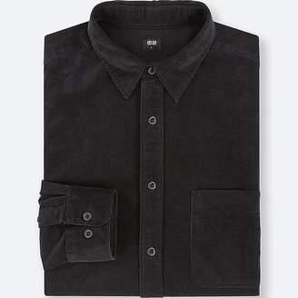 Uniqlo Men's Corduroy Long-sleeve Shirt