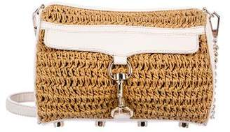 Rebecca Minkoff Woven Straw M.A.C. Bag
