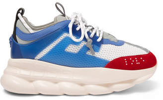 Chain Reaction Panelled Mesh Sneakers