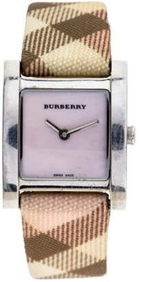 Burberry Heritage Watch pink Heritage Watch