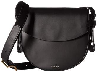 Skagen Lobelle Saddle Bag Bags