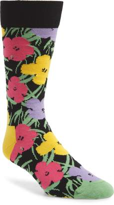 Happy Socks Andy Warhol Flower Socks