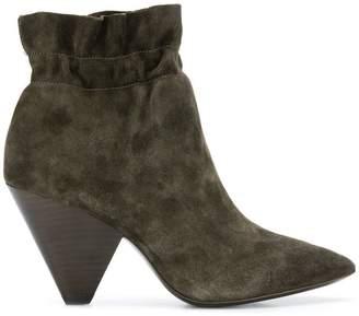 Ash chunky heel boots