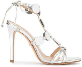ff0d98f774f Schutz Silver Heeled Sandals For Women - ShopStyle UK