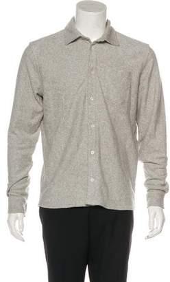 Wood Wood Terrycloth Oval Shirt