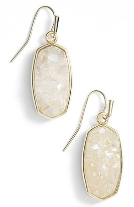 Women's Kendra Scott 'Danay' Drusy Drop Earrings $195 thestylecure.com