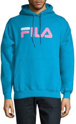 Fila Logo Cotton Fleece Hoodie