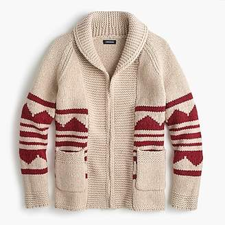 J.Crew Jeans open-front shawl-collar cardigan sweater