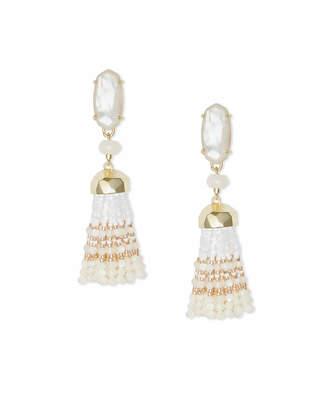 Kendra Scott Dove Statement Earrings in Gold